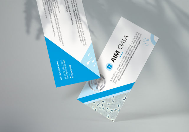 convite flyer aim ciala