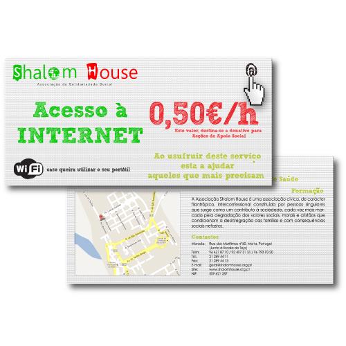 Flyer Shalom House