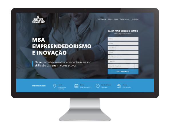 Website Institute of Business Management
