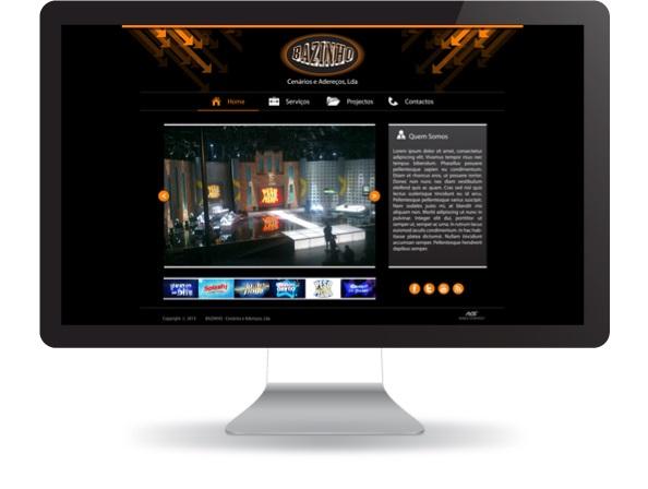 Website Bazinho