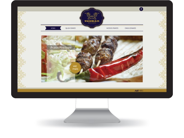 Website Shiraz Restaurants